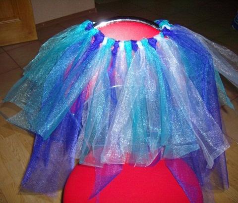 Новогодний костюм феи для девочки, мастер - класс