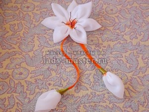 Цветы сделать из тюли своими руками