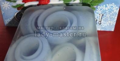 Рецепт мыла со свирлами из основы