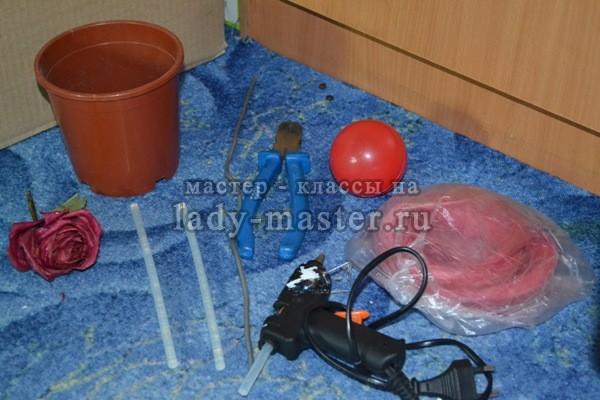 инструменты для изготовления топиария