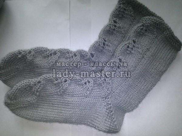 теплые носочки, фото