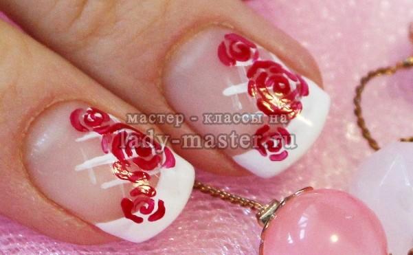 френч + розы, фото