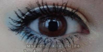 Красивый летний макияж для карих глаз
