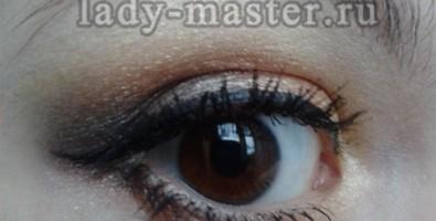 Макияж для карих глаз с коричневыми тенями, мастер — класс