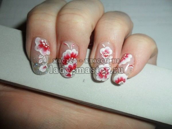рисунки на ногтях китайская роспись, фото