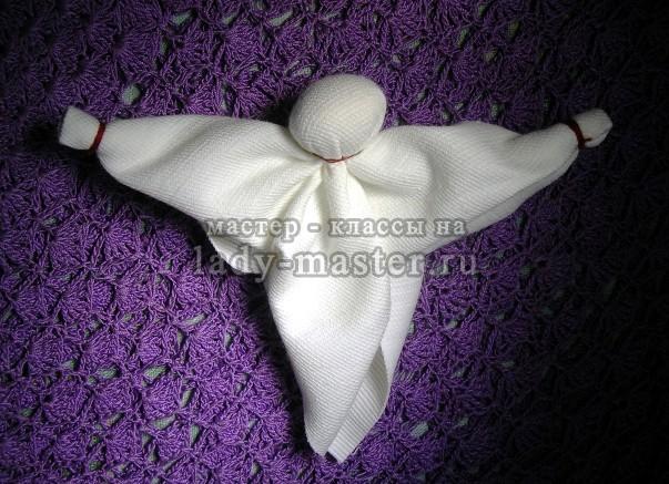 Кукла капустка или кормилка (рванка), мастер класс с пошаговыми фото