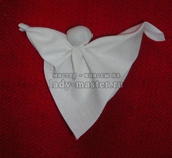 Кукла - оберег - Ангел, мастер - класс с пошаговыми фото