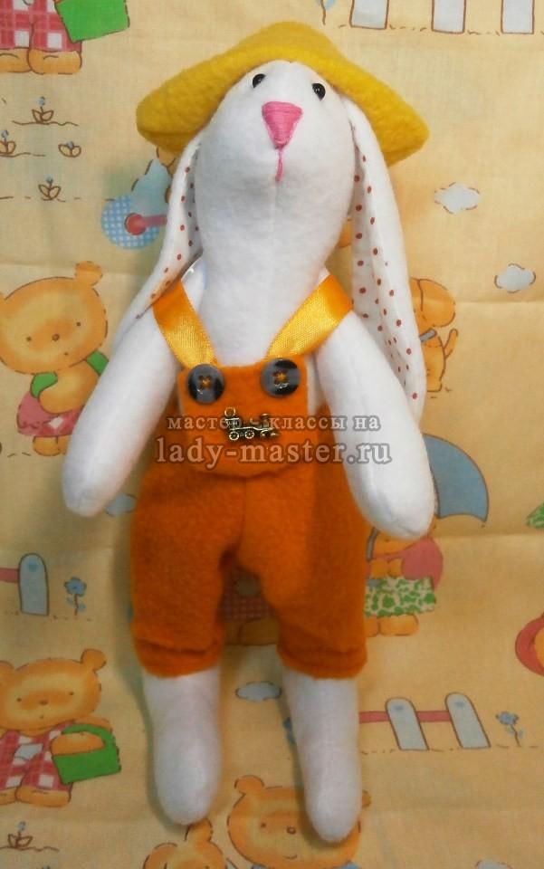 игрушка тильда заяц, фото