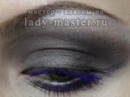 Яркий макияж на вечеринку для серых глаз. Мастер-класс