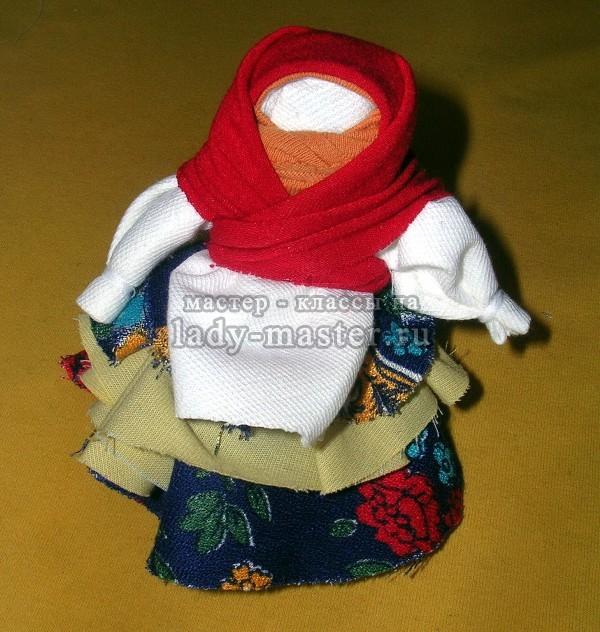 кукла оберег колокольчик, фото
