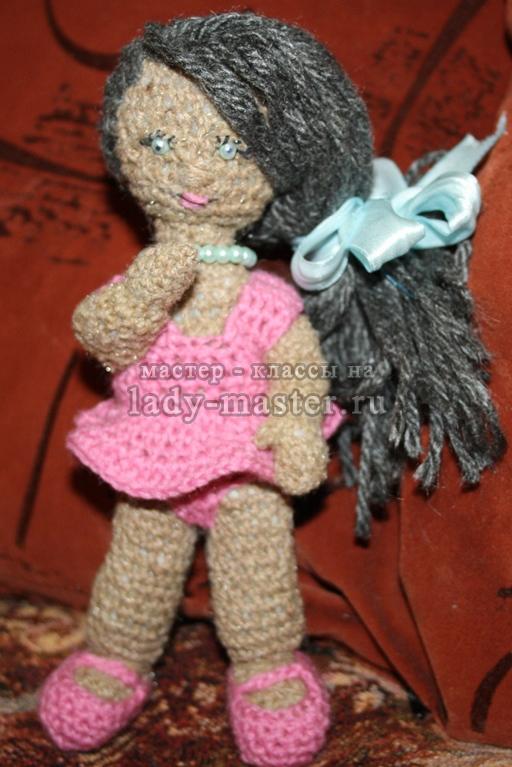 вязаные игрушки куклы, фото