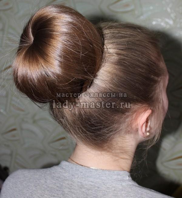 прически на длинные волосы пучок, фото