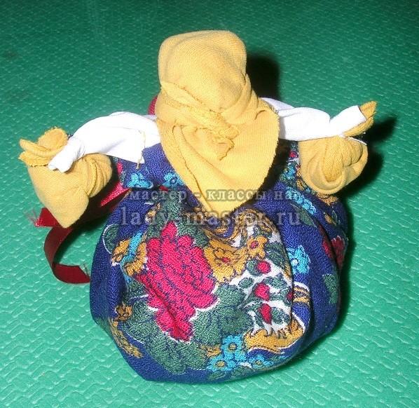 изготовление куклы травницы, фото
