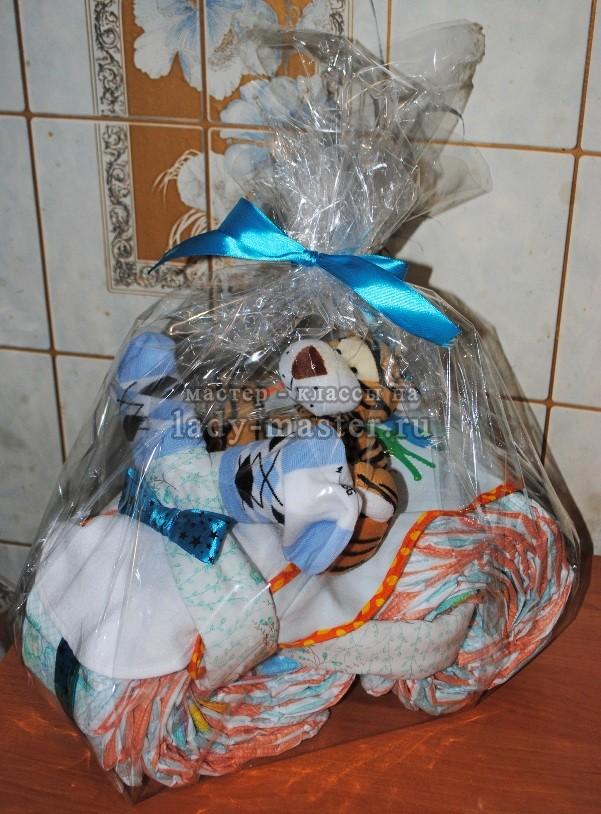 Подарок памперсов мастер класс