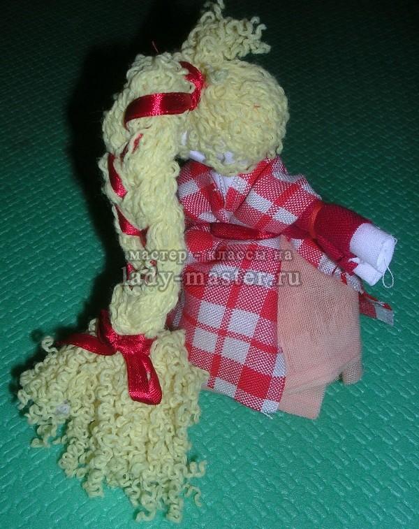 Кукла оберег травница своими руками мастер класс