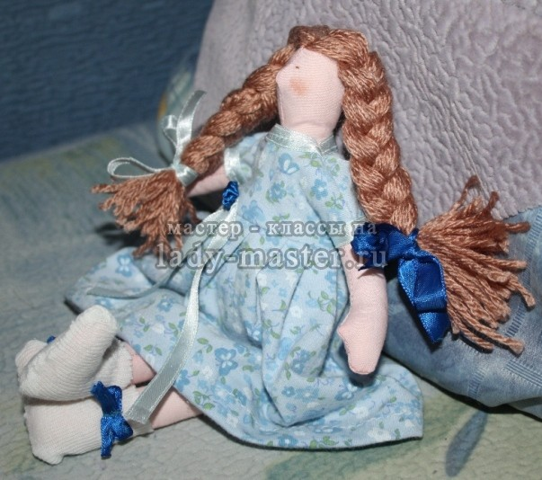Кукла тильда - малышка, мастер - класс с пошаговыми фото