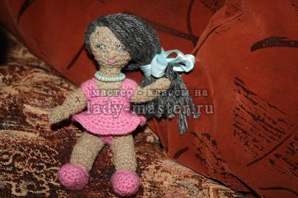 вязаные куклы спицами мастер класс, фото