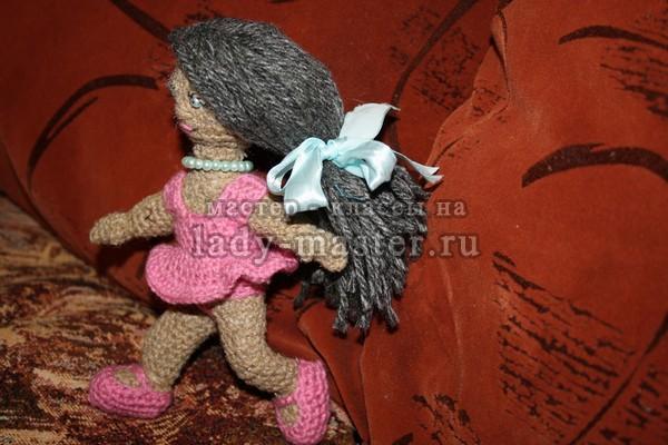 как сделать вязаную куклу, фото