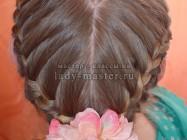 Плетение кос в виде сердца — подробный мастер-класс