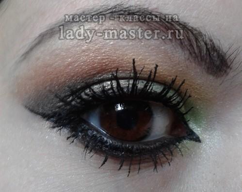 как сделать арабский макияж, фото