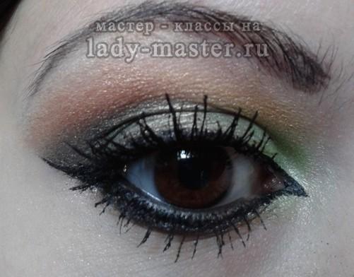 арабский макияж для глаз фото