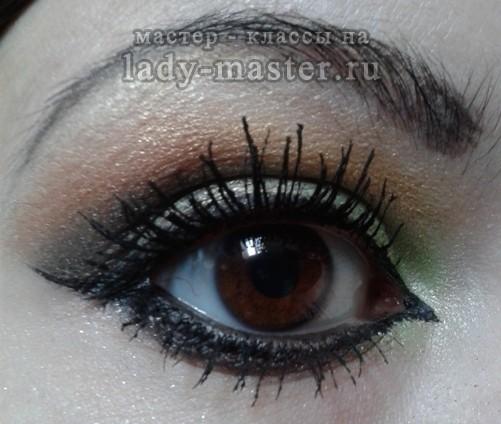 Арабский макияж глаз пошагово, фото