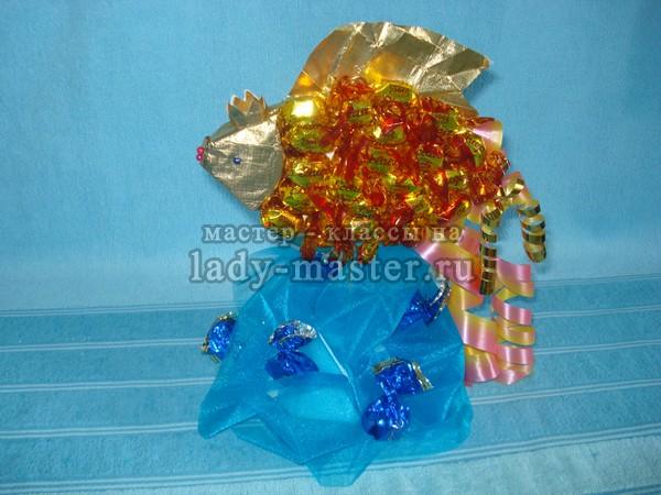 Мастер класс букеты из конфет своими руками
