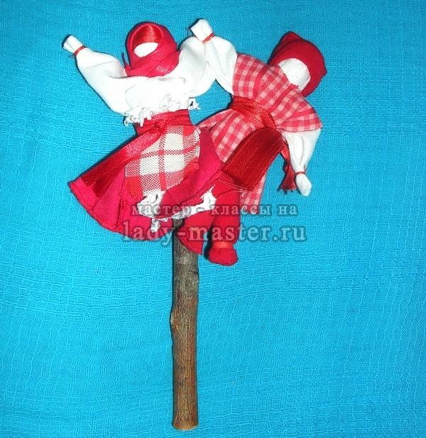 Кукла Роща или Мировое Древо своими руками, мастер - класс с фото
