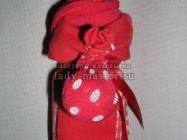 Пасхальная текстильная кукла