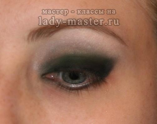 макияж девушки Джеймс бонда, фото