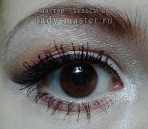 Свадебный макияж для карих глаз пошагово, фото