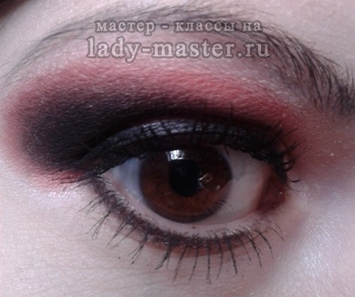 Яркий макияж мастер класс с фото #10