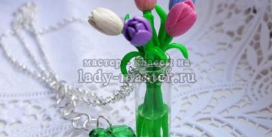 Мастер-класс по созданию тюльпанов из полимерной глины