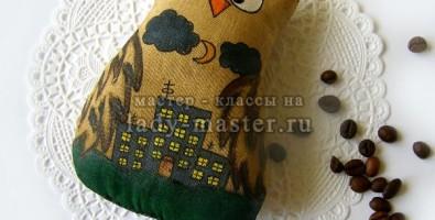 Мастер класс «Кофейная игрушка совушка»