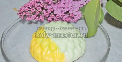 Двухцветное мыло для начинающих своими руками