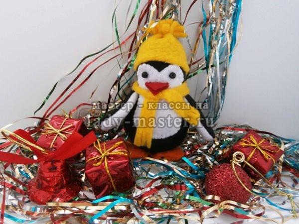 мягкая игрушка пингвин, фото