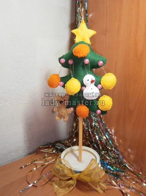новогодние елочки своими руками, фото