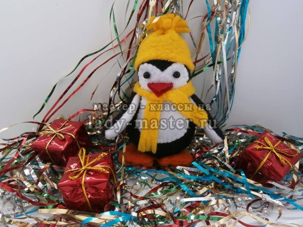 Мягкая игрушка пингвин своими руками, фото