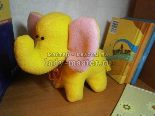 игрушка слон своими руками, фото