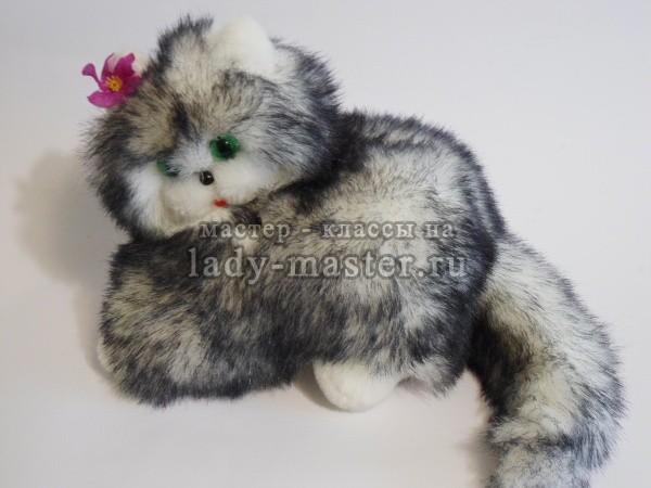 мягкая игрушка котенок своими руками, фото