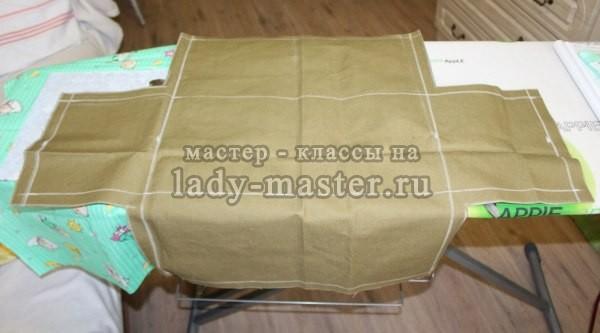 Сшить хозяйственную сумку из ткани своими руками