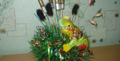 Букеты ромашек из конфет своими руками пошаговое фото