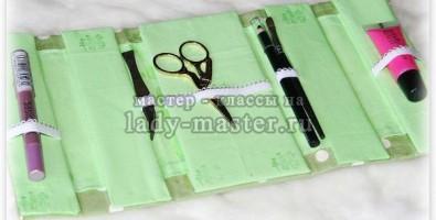 Органайзер сумка для инструментов для маникюра своими руками