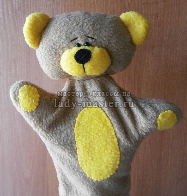 медвежонок своими руками для кукольного театра, фото