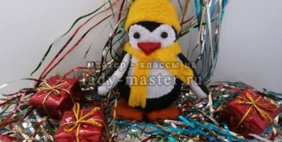 Пингвиненок своими руками