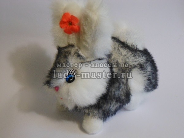 Мягкая игрушка заяц своими руками, фото
