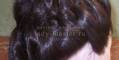 Прическа Crown Braid или «Корона из кос»