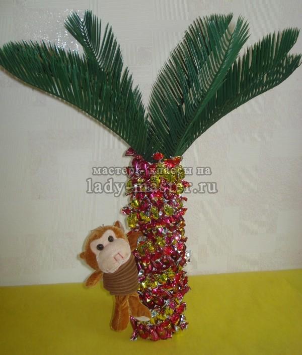 Мастер класс пальма своими руками 2