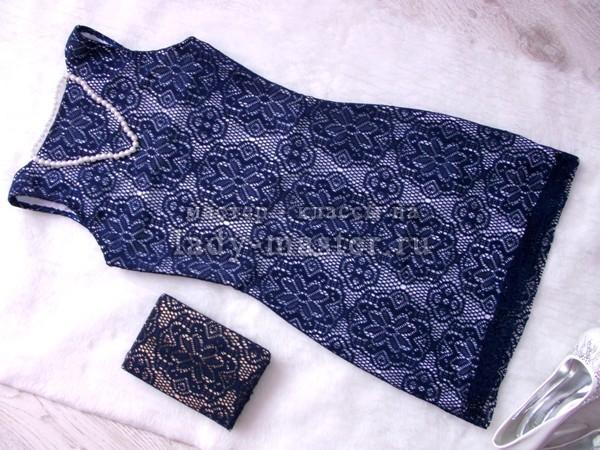 Пошив платья своими руками из гипюра 7