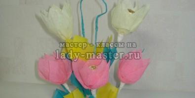 Сладкая композиция Тюльпаны